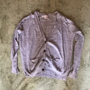 Gray Decree Cardigan